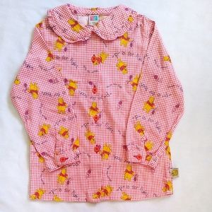 24-30 Month Winnie the Pooh Red checkered dress